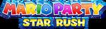 Mario Party Star Rush logo