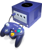 Nintendo GameCube Purple Model
