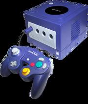 Nintendo GameCube Purple Model