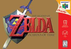 The Legend of Zelda Ocarina of Time Carátula