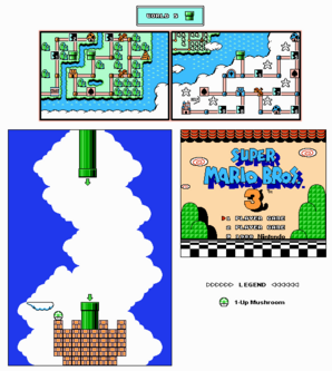 SMB3 World 5-Pipe