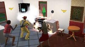 3Ds sims 3 (Fire!!!!)