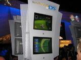 E3 2005 kiosk demo screenshot by Press The Buttons - Mario Kart DS
