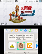 Layton's Mystery Journey Katrielle and the Millionaires' Conspiracy - Screenshot 002