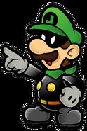Mr. L Artwork - Super Paper Mario