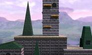 N64 Hyrule Castle (SSB3D)