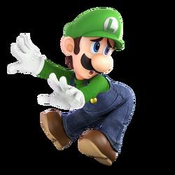 f6350398af2 Super Smash Bros. Ultimate - Character Art - Luigi