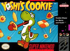 Yoshi's Cookie SNES (NA)