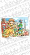 Daisy Toads London Tour artwork - Mario Kart Tour