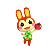 Animal Crossing - Pocket Camp - Character Artwork - Bunnie 01