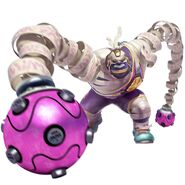 Artwork de Master Mummy en Arms