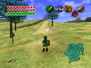 Ocarina of Time - Gameplay