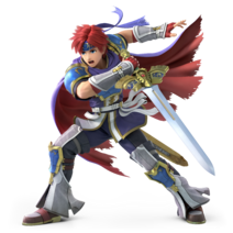 Super Smash Bros. Ultimate - Character Art - Roy