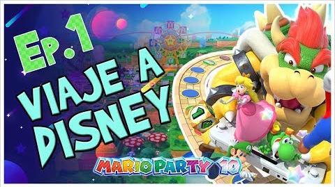 Viaje a Disney... de 5 personas! - Mario Party 10 (En Español)