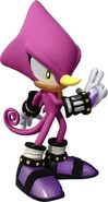 Espio the Chameleon Shadow
