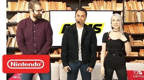 ARMS Gameplay – Nintendo Treehouse Live with Nintendo Switch