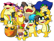 Bowser s illegitimate children by nubthemadhatter-d4kbml1