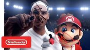Mario Tennis Aces - The Match of the Century ad