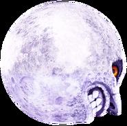 Majora's Mask 3D Artwork Moon