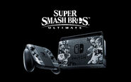 Nintendo Switch - Super Smash Bros. Ultimate Bundle - Illustration