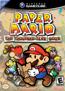 Paper Mario The Thousand Year Door (NA)