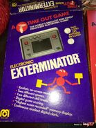 Vintage-game-timeout-nintendo-electronic-exterminator-game-watch-handheld-game