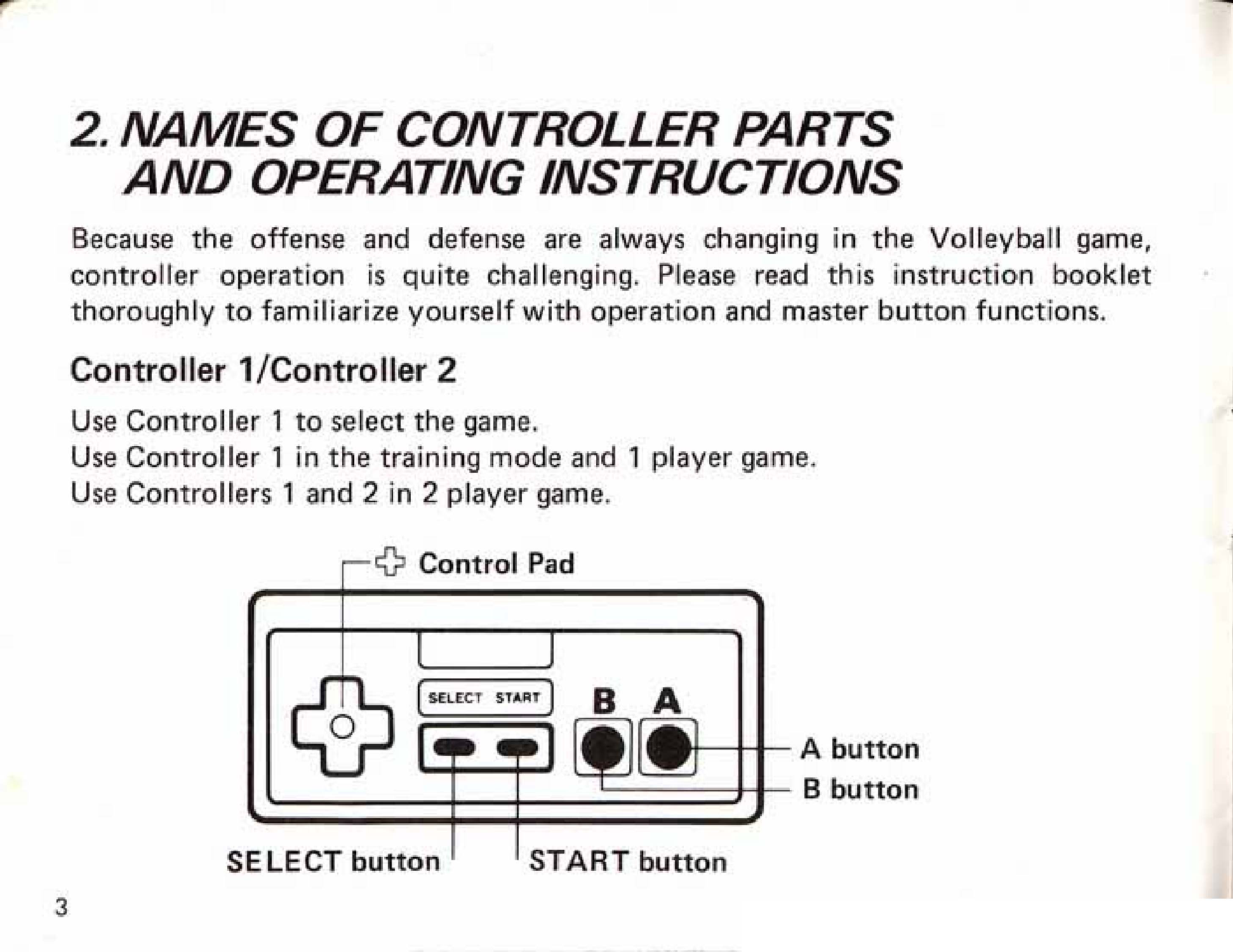 Image Volleyball Manual Page 3g Nintendo Fandom Powered By
