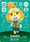 Animal Crossing Amiibo Card 001