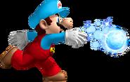 NSMBW Ice Mario