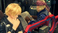 Shulk Dickson and the Monado