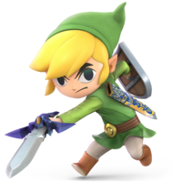 Super Smash Bros. Ultimate - Character Art - Toon Link