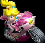 Princesa Peach - Mario Kart Wii
