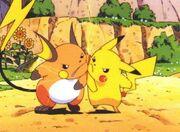 Raichu&Pikachu