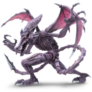 Super Smash Bros. Ultimate - Character Art - Ridley
