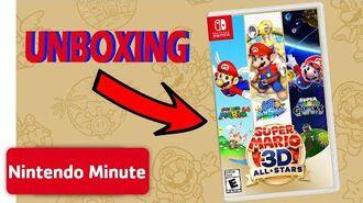 UNBOXING! Super Mario 3D All-Stars & more