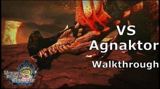 MH3U No deaths -Vs Agnaktor- (Walkthrough ProPlay)