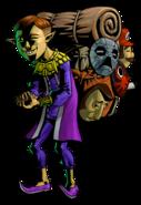 The Legend of Zelda Majora's Mask 3D - Character artwork 12