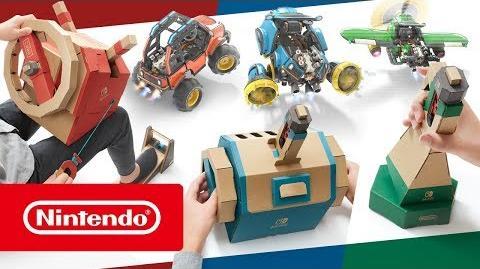 YonedgeHp/Nintendo desvela detalles del nuevo kit de vehículos de Nintendo Labo, disponible el 14 de septiembre
