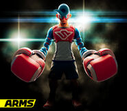 ARMS - Character Artwork - Spring Man