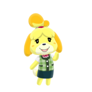 Animal Crossing - Pocket Camp - Character Artwork - Isabelle 02