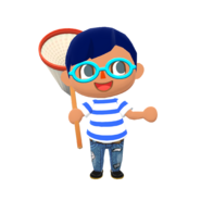 Animal Crossing - Pocket Camp - Character Artwork - Player - Boy 01