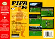 FIFA 64 (NA) Back