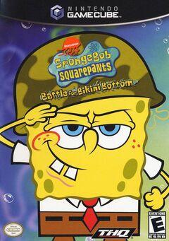 Spongebob Battle for Bikini Bottom GCN (NA)