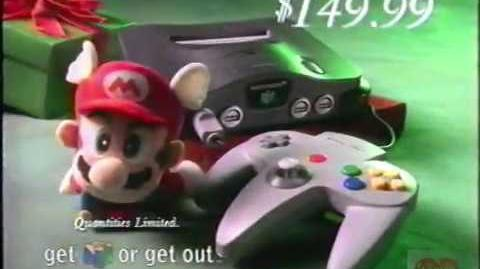 Target Nintendo Television Commercial 1997 Diddy Kong Racing N64 Scott Hammil