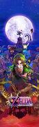 The Legend of Zelda Majora's Mask 3D - Artwork 03