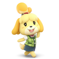 Super Smash Bros. Ultimate - Character Art - Isabelle