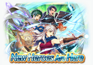 Fire Emblem Heroes - Summoning Banner - World of Dawn