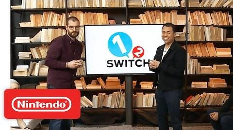 1-2-Switch – Nintendo Treehouse Live with Nintendo Switch