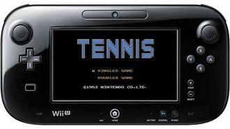テニス プレイ映像