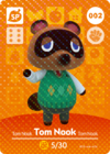Animal Crossing Amiibo Card 002